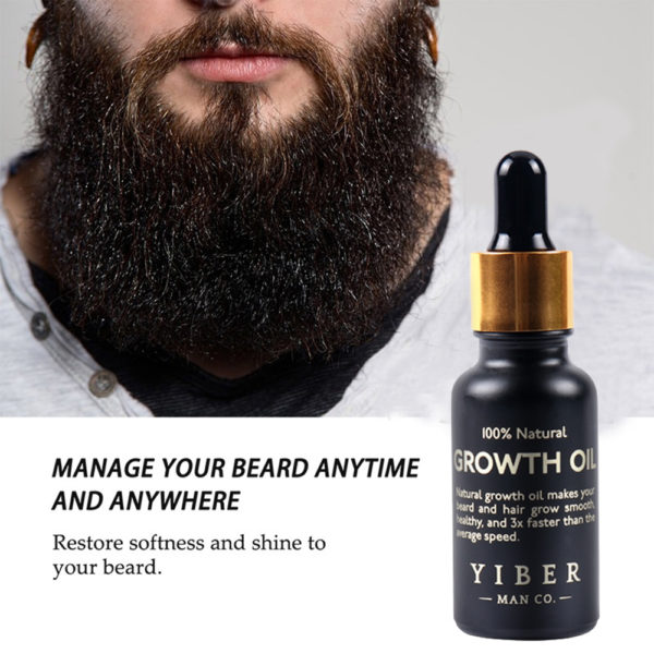 Beard Growth Oil 01