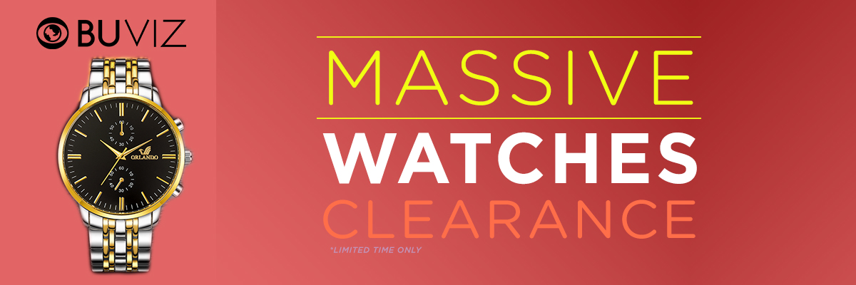 WATCH CLEARANCE SALE
